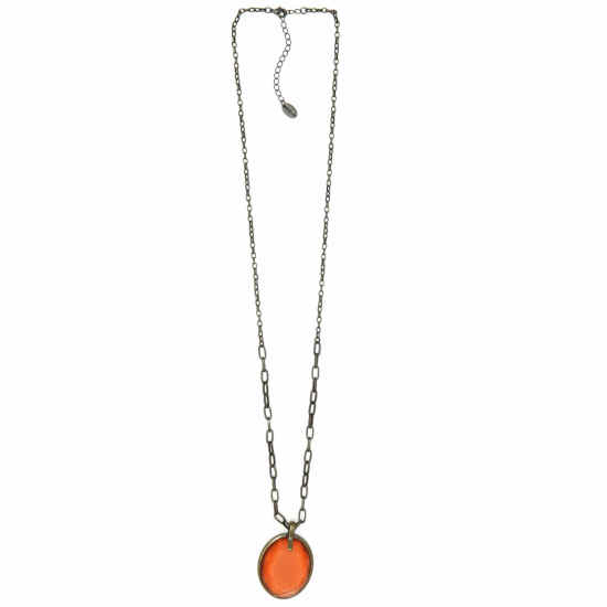 Collar Tropic art naranja