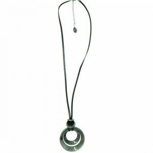 Collar Tropic art largo medallón