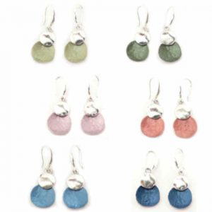 Pendientes Tropic art metal y color
