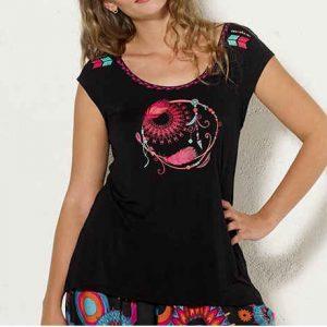Camiseta Coline viscosa atrapasueños