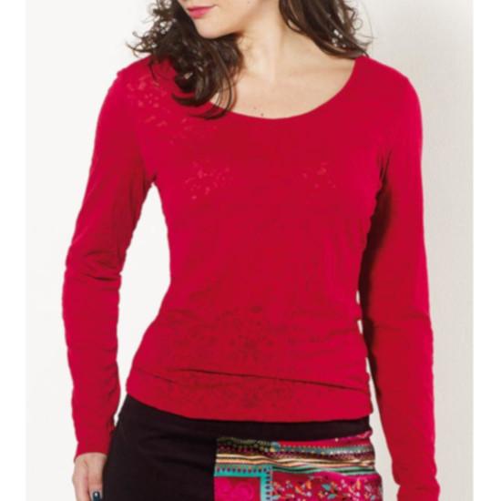 Camiseta Coline algodón cuello redondo