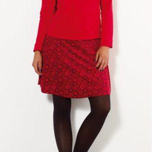 Falda terciopelo reversible talla única