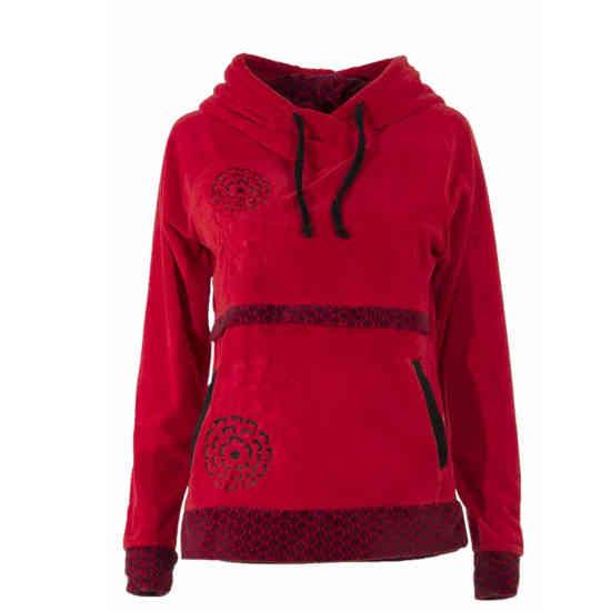 Jersey Coline capucha rojo