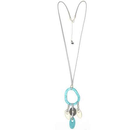 Collar Tropic art largo con medallon