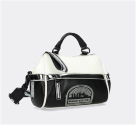 Bolso dogsbybeluchi negro y blanco