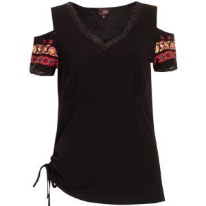 Camiseta Coline hombro al aire