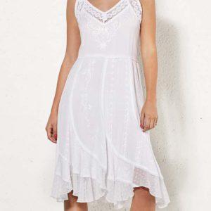 Vestido blanco Coline en Zagora