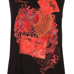 Camiseta Coline patchwork