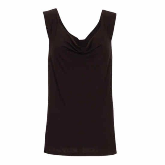Camiseta Coline elástica sin mangas