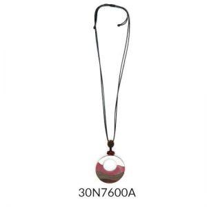 Collar Tropic art medallon