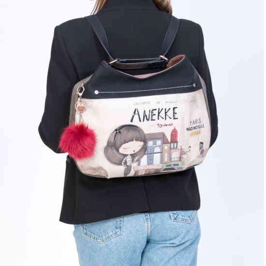Bolso covertible en mochila