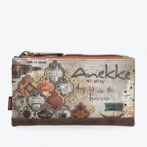 Billetero Anekke estampado arabesco