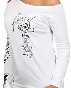 camiseta Animosa Amy blanca