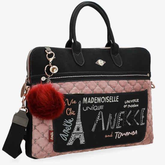 Portadocumentos Anekke París negro