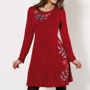 Vestido Coline rojo