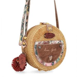 Bolso Anekke jungle rafia bandolera