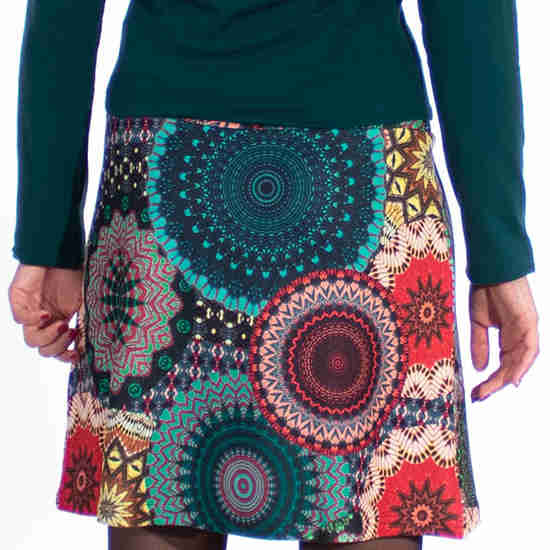 Falda Coline Estampado Multicolor