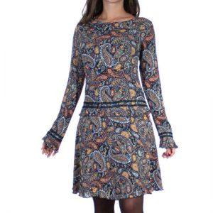 Vestido Coline Cachemir Viscosa Corto Espectacular