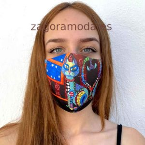 Mascarilla Homologada Reutilizable Laurel Burch