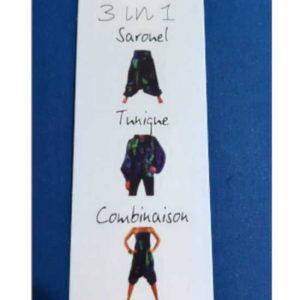 Pantalón Coline Viscosa 3 Posturas Estampado