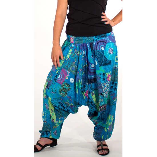 Pantalon Coline Bombacho 3 en 1 Estampado