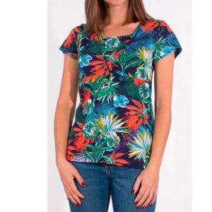 Camiseta Algodón 97% y Elastano 3% Mangas Cortas