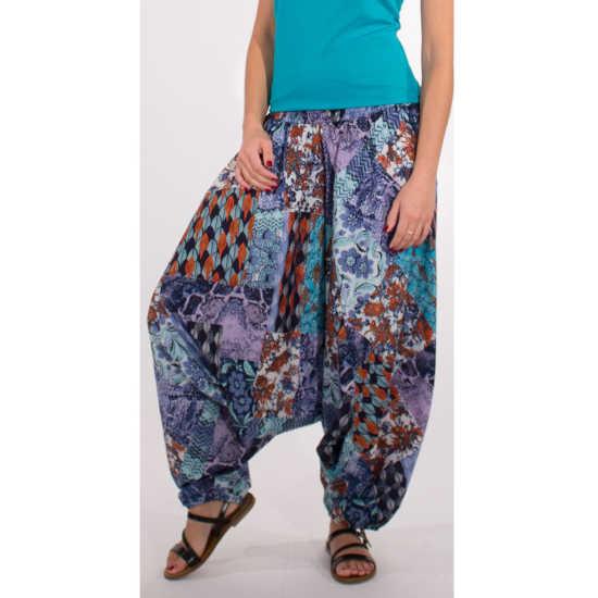 Pantalón Coline 3 Posturas Estampados Azules